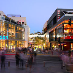 Shopping at Santa Monica Place